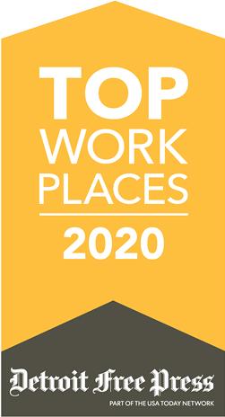 TOP WORK PLACES 2020 Detroit Free Press